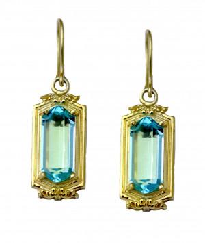 Gold Legacy Chandelier Earring