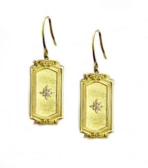 Gold & Diamond Legacy Chandelier Earring