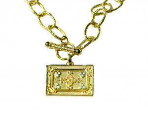 Necklace shown here paired with Grandeur Pendent ( Sold separately )
