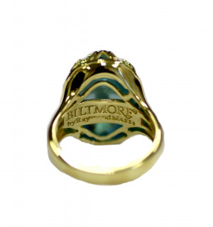 14kt Chateau Collection Fleur di lis Ring