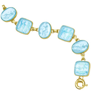 Venetian Glass Diana & Three Graces Bracelet