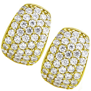 1.60ct Diamond Earring Cuffs